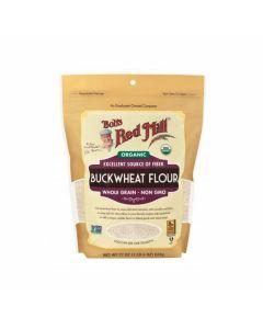 Bob's Red Mill - Organic Whole Grain Buckwheat Flour Powder - 22 oz