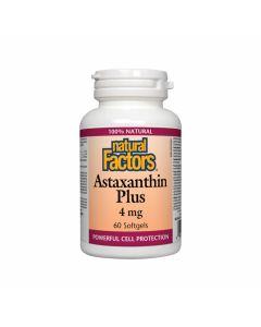 Natural Factors Astaxanthin Plus 4 mg