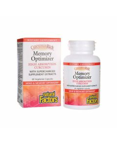 Natural Factors CurcuminRich Memory Curcumizer High Absorption Curcumin