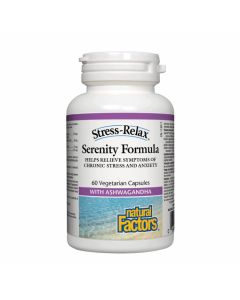 Natural Factors Stress-Relax Serenity Formula With Ashwagandha