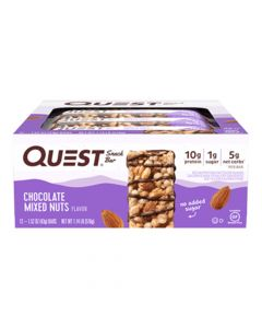 Quest Nutrition - Snack Bar - Chocolate Mixed Nuts - Box of 12