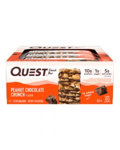 Quest Nutrition - Snack Bar - Peanut Chocolate Crunch - Box of 12