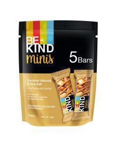 Be Kind - Minis - Caramel Almond & Sea Salt - 5 Bars