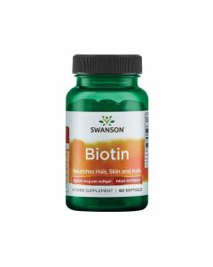 Swanson Biotin High Potency 10000 mcg