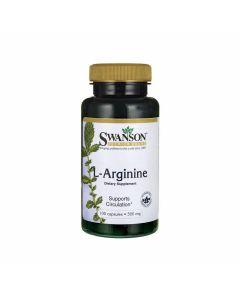 Swanson L-Arginine 500 mg
