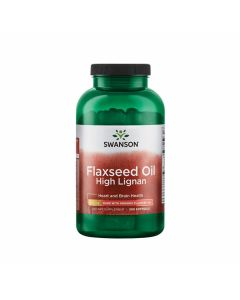 Swanson Flaxseed Oil High Lignan 900 mg