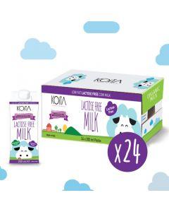 Koita - Lactose-Free Milk (Hormone Free) - 200 ML - Box Of 24