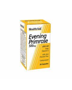 Health Aid - Evening Primrose 500 mg With Vit. E