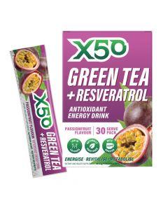 إكس 50 - شاي أخضر - باشن فروت