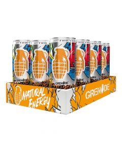 Grenade Energy Rtd Drink - Original - Box Of 12