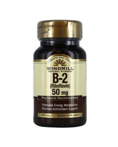 Windmill  - B-2 (Riboflavin) 50 Mg