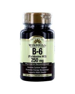 Windmill  - B-6 (Pyridoxine HCI) 250 Mg