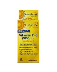 Sunshine - Vitamin D-3 1000 IU