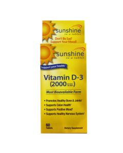 Sunshine - Vitamin D-3 2000 IU