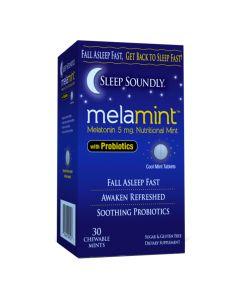 Sleep Soundly - Melamint with Probiotics 5 mg