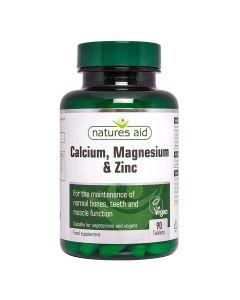 Natures Aid - Calcium Magnesium & Zinc