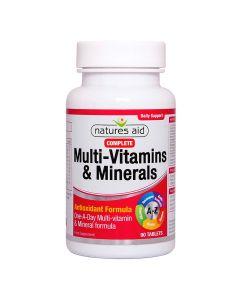 Natures Aid - Complete Multi-Vitamins & Minerals