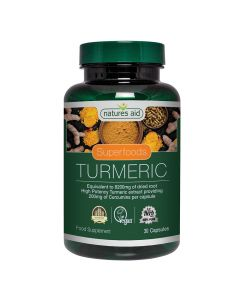 Natures Aid - Superfoods Turmeric