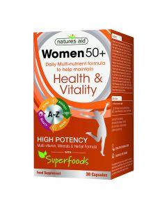 Natures Aid - Women 50+ Health & Vitality