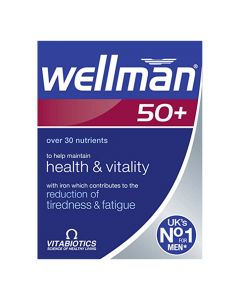 Vitabiotics - Wellman 50+