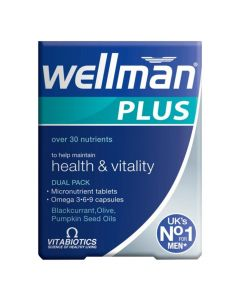 Vitabiotics - Wellman Plus