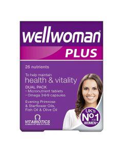 Vitabiotics - Wellwoman Plus