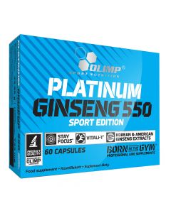 Olimp Sport Nutrition - Platinum Ginseng 550 Sport Edition