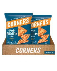 Corners Pop - Protein Crisps - 28g - Box Of 18