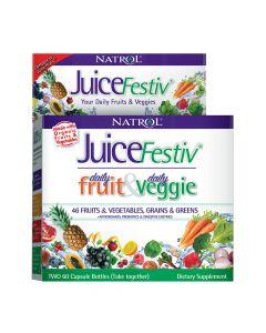 ناترول - عصير فيستيف فواكه يومية وخضروات يومية
