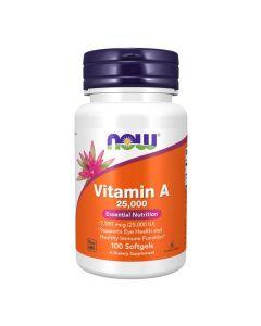 Now Vitamin A 25000 iu