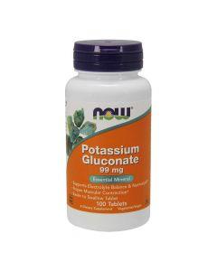 Now Potassium Gluconate 99 mg