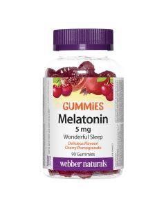 Webber Naturals - Melatonin Gummies 5 mg