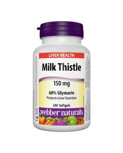 Webber Naturals - Milk Thistle 150 mg