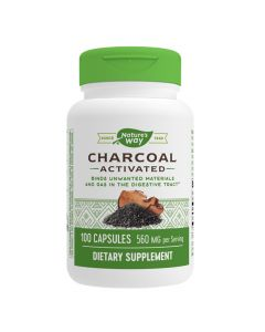 Natures Way - Charcoal Activated