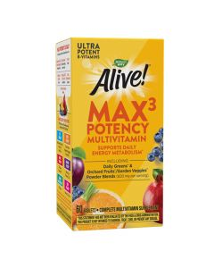 Natures Way - Alive - Max3 Daily Multivitamin With Iron