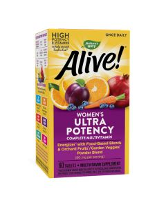 Natures Way - Alive - Once Daily, Women's Ultra Potency Complete Multivitamin