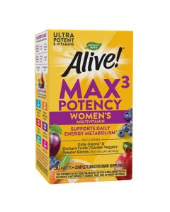 Natures Way - Alive - Max3 Potency Women Multivitamin