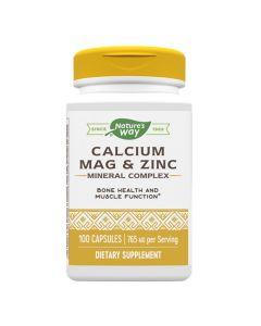 Natures Way - Calcium-Magnesium-Zinc
