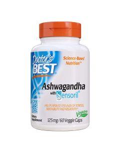Doctors Best - Ashwagandha With Sensoril 125mg