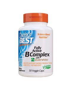 Doctors Best - Fully Active B-Complex with Quatrefolic