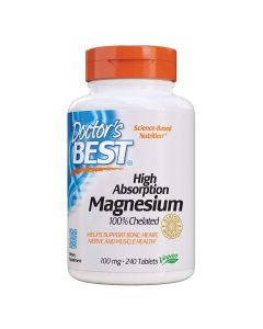 Doctors Best - High Absorption Magnesium 100mg Elemental