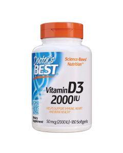 Doctors Best - Vitamin D3 2000Iu