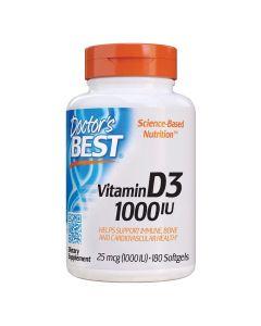 دكتور بيست - فيتامين د3 1000 وحدة دولية