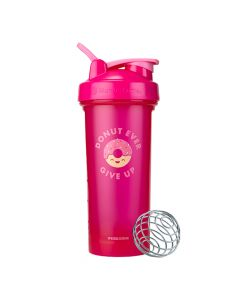 BlenderBottle Foodie Classic Shaker Cup - Donut Ever Give Up