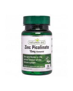 نيتشرز ايد - بيكولينات الزنك 15 مغ