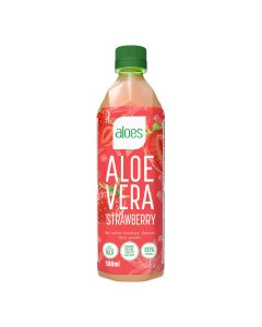 Aloes - Aloe Vera Strawberry Drink