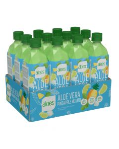 Aloes Aloevera Drink - Pineapple - Box Of 12