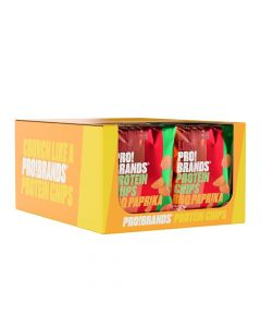 برو براندز - بروتين شيبس - صندوق 14 قطعة