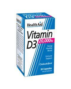 Health Aid - Vitamin D3 20000iu