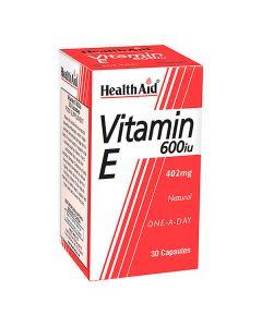 هيلث إيد - فيتامين ي 600 وحدة دولية طبيعي
